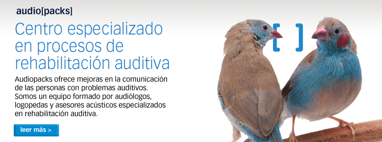Audiopacks · audiologia y logopedia